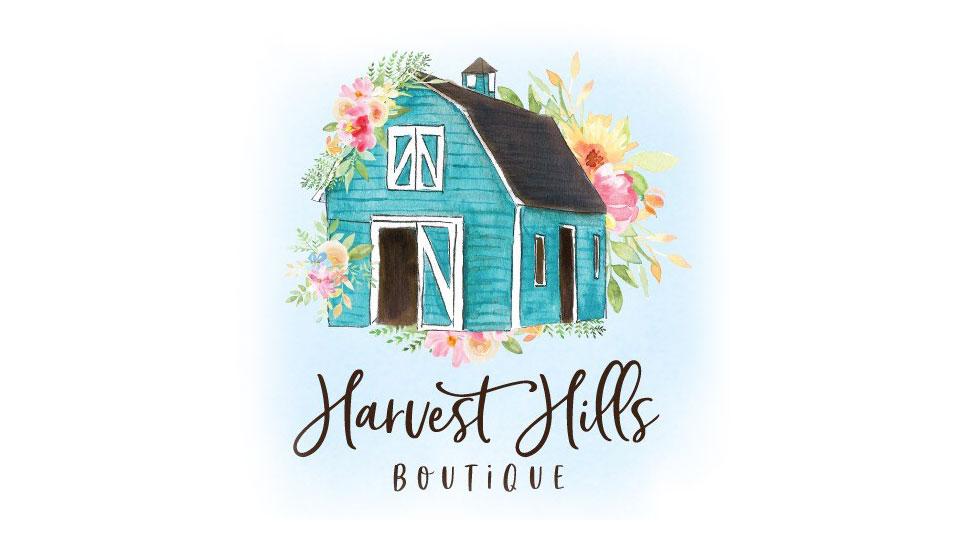 harvest hills boutique logo